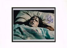 Linda Blair & George Crumb Autograph Signed Photo - The Exorcist